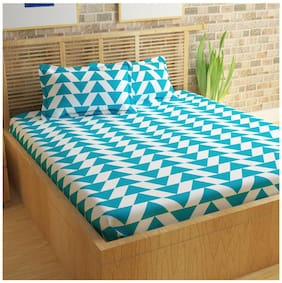 Story@Home Candy 1  Double Bedsheet with 2 Pillow Covers (224 cm x 236 cm)