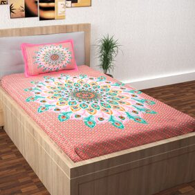 Story@Home Fantasy 1 Single Bedsheet with 1 Pillow Cover (145 X 225 cm)