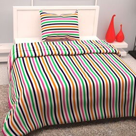 Story@Home 1 Single Bedsheet With 1 Pillow Cover (145x225 cm)