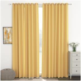 Story@Home Blackout Set of 4 Pcs Door Curtain - 7ft