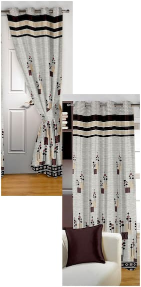 Story@Home Berry Door and Window Curtains