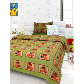 Story@Home Kidzy 1 Single Bedsheet Set with 1 Pillow Cover