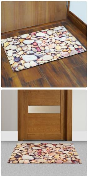 Story@Home Combo Of Designer Door Mat Set Of 2
