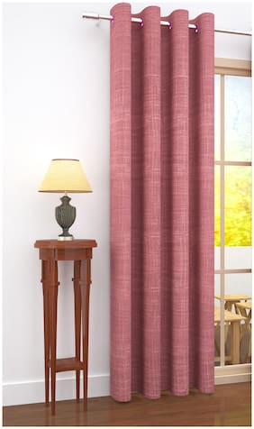 Story@Home 1 Pc Jacquard Bloom Door Curtain - 7ft