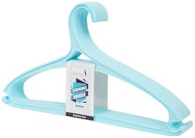 Story@Home Stainless steel Blue Hangers ( Set of 1 )
