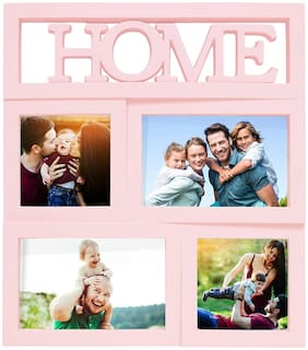 Story@Home collage Wooden Photo Frame For 4 Photos