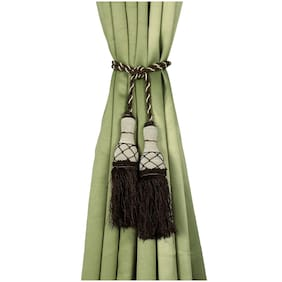 Story@Home 4 Pcs Polyester Curtain Tassels