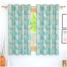 Story@Home Set of 2 Pcs Window Compass Curtain - 5ft