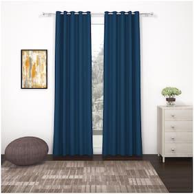 Story@Home Set of 2 Pcs Long Door Blackout Curtain - 9ft