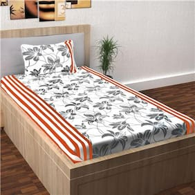 Story@Home Spark 1 Single Bed Bedsheet with 1 Pillow Cover (145x225 cm)