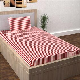 Story@Home Spark 1 Single Bed Bedsheet with 1 Pillow Cover
