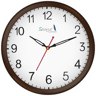 Story@Home Brown Wall clock