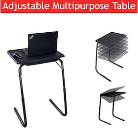 Gadget Wagon Adjustable Strong Multipurpose Portable Laptop Table, Study Table, Kids Table, Office Table, Dining Table