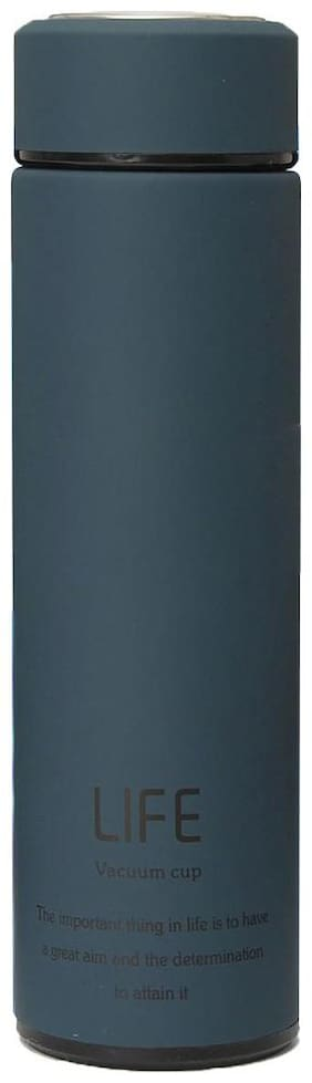 Style Homez Thermosteel Flask Set of 1 ( Blue , Stainless Steel ,  480 ml )