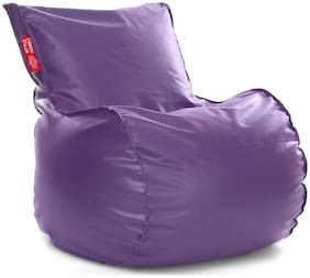 Style Homez Mambo Bean Bag XXL Size Purple with Fillers