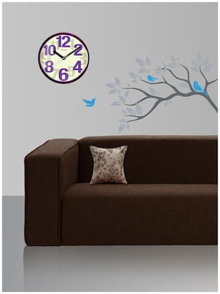 Style Homez Cotton Canvas Abstract Printed Cushion Small Size Cover Only