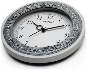 Dice White Wall clock