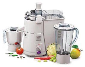 Sujata Powermatic Plus 900 W 2 Jars Centrifugal Juicer ( White )