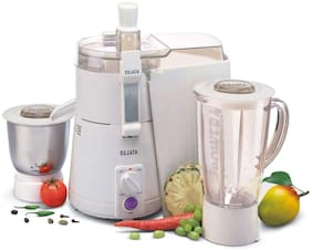 Sujata POWERMATIC PLUS 900 W Juicer Mixer Grinder ( White , 2 Jars )