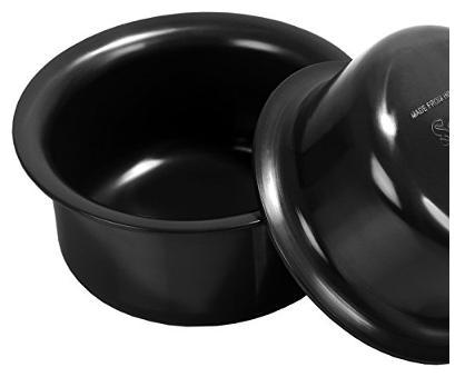 Sumeet 3mm Hard Anodised Tope  Pot  set of 2pc  No.13   No. 14  2.3Ltr.   2.9Ltr.  by Ascipl