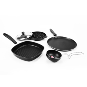 Sumeet Non Stick Pentamerous Cookware Set