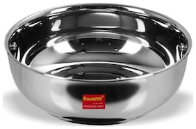 Sumeet Stainless Steel Induction Bottom (Encapsulated Bottom) Tasra Size No.12 (1.9 Ltr)