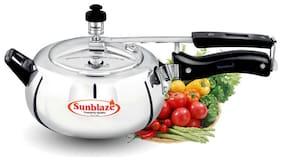 Sunblaze Style-O-Curve 7 Ltr HA (IB) 7 L Inner Lid Pressure Cooker ( Black , Stainless Steel , Set of 1 )
