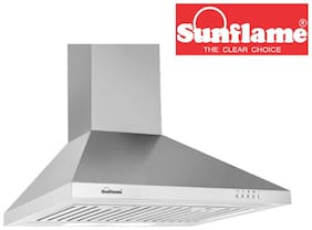 Sunflame Fusion SS 60 cm 850 m3h Chimney
