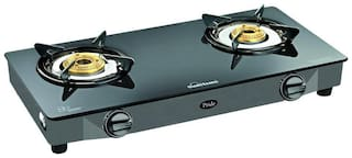 Sunflame 2 Burners Stainless Steel Gas Stove - Assorted