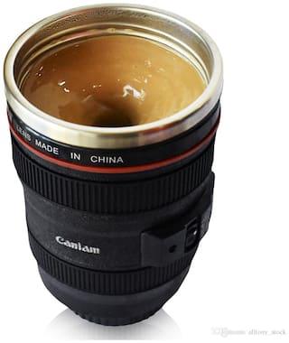 Super Classic Camera Lens Shaped Coffee Mug with Lid