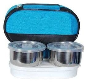 SUPER DEAL 3 piece lunch box Assorted 3 Containers Lunch box ( Set of 1 , 700 ml )