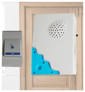 SUPER DEAL Wireless Door Bell For Home and Office (Assorted colors and Designs)