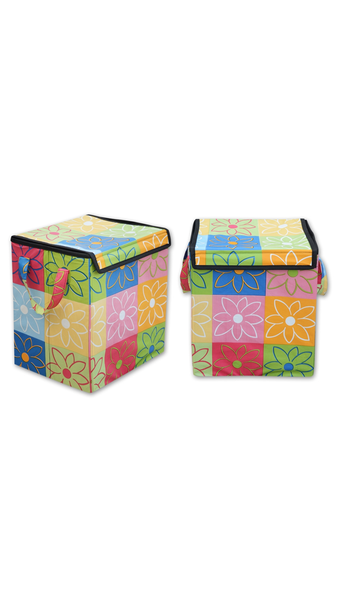 Super India Waterproof Foldable Washing Clothes Laundry Basket Bag H&er Bin Storage Box With Closing Head  sc 1 st  Paytm Mall & Buy Super India Waterproof Foldable Washing Clothes Laundry Basket ...