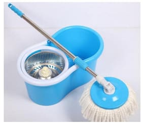 SUPER SPIN MOP (2 REFILLS) (COLOR AS PER AVAILABILITY )