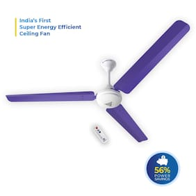 SUPERFAN Super V1 1400 mm Premium Ceiling Fan ( Purple )