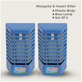 Supertexon Electronic Night Lamp Cum Insect Killer -Pack of 2