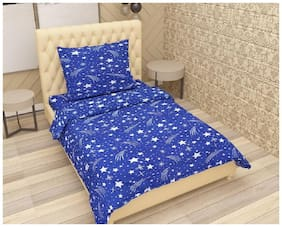 Supreme Home Collective 1 Single Bedsheet with 1 Pillow Cover