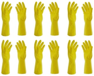 Surf Rubber Hand Gloves Set of 6