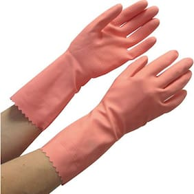 Surf Rubber Hand Gloves Pink