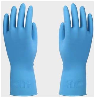 Surf Rubber Hand Gloves Blue
