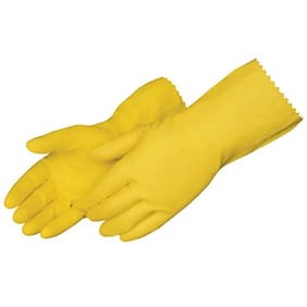 Surf Rubber Hand Gloves Yellow