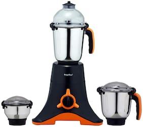 Surya Flame BLACK THUNDER 750 W Mixer Grinder ( Black & Orange , 3 Jars )