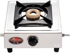 Surya Flame 1B Panther Stainless Steel Gas Stove (Single Burner)