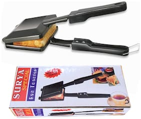 Surya Special Gas Toaster Small Sandwich Maker Non Electric Non Stick Coating
