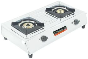 Surya. 2 Burner Regular Silver Gas Stove