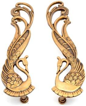 SUSAJJIT DECOR Brass Door handle ( Set of 2 )