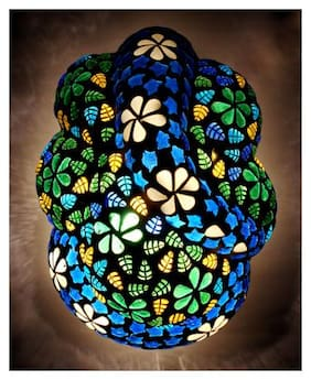 Susajjit Pleasing Ganesha Wall Lamp decorative glass lamp for Home / Office / Hotel Decoration