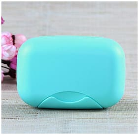 SVK Dream Useful Portable Waterproof Leakproof Travel Soap Box Case Holder | Plastic Soap Case Box Holder Dish Container for Outdoors Travel Home Use/ (Random Color)