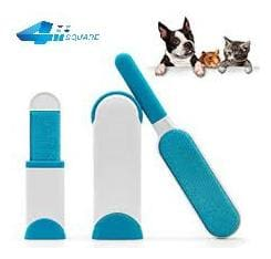 svk Dreamworld Fur Wizard Sticky Brush Pet 3 Sets(White + Blue)