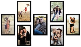 Swadesi Stuff Mdf with melamine Black Collage picture frame ( Set of 1 )